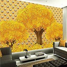 Chlwx Custom Wallpaper 3D Stereo Metall Textur