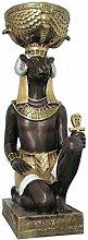 Chnum mit Pflanzgefäß - Ägyptische Figuren -