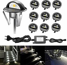 CHNXU Treppenbeleuchtung 10er Set LED