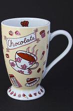 CHOCOLATE Trinkschokoladen Porzellanbecher