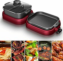 CHOME Raclette Grill, elektrischer Barbecue-Grill