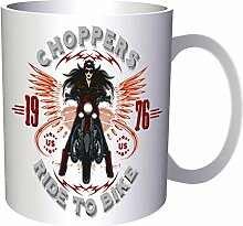 Choppers Ride To Bike 1976 33 cl Tasse ee965