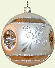 Christbaumkugel Esprit 6 cm 3 Stück (Silber, 3