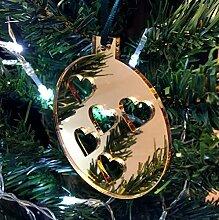 Christbaumkugel Herzen Weihnachtsbaum