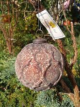 Christbaumkugel Rusty Ice Cross