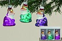 Christbaumschmuck Frosch Weihnachten Dekoration Froschkönig Adven