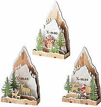 Christbaumschmuck Hängende Dekorationen Baum Holz