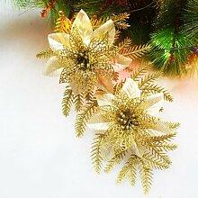 Christbaumschmuck Rattanmöbel Blumengirlanden