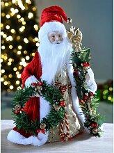 Christbaumspitze Weihnachtsmann Die Saisontruhe
