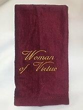 Christianwear Ministry Handtuch, Bestickt mit Frau