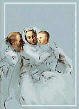 christliche GMM Weihnachtskart, Klappkarte zu