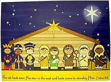 Christlicher Adventskalender für Kinder,