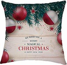 Christmas Ball Buchstaben Polyester dekorativer