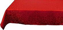 Christmas Concepts® 137cm x 183cm Damast Roten