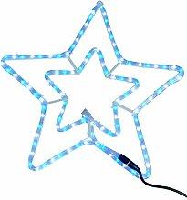 Christmas Concepts® 55cm blau und weiß LED