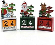Christmas Countdown Adventskalender Mit Rentier