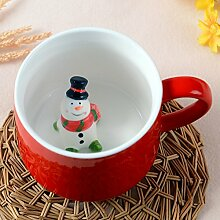 Christmas happy red bottom kaffee tassen tee süss