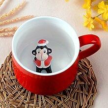 Christmas happy red bottom kaffee tassen tee süss