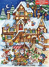 Christmas Market Adventskalender Schokolade