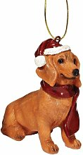 Christmas Ornaments - Weihnachten Dackel Ferienhundeornamente