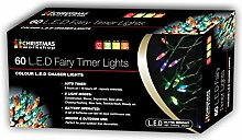 Christmas Workshop LED Lichternetz batteriebetrieben mit Timer