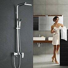 Chrom Bad Dusche Wasserhahn Wand Wasserfall