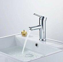 Chrom Bad Wasserhahn Waschtischarmatur Gerade