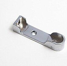 Chrom cp weiblichen top fix Sockel oval 75mm Länge Stange Größe 16mm Durchmesser box von 50