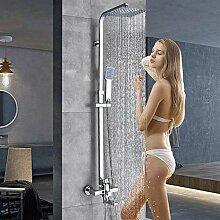 Chrom Duschkabine Wasserhahn Badezimmer