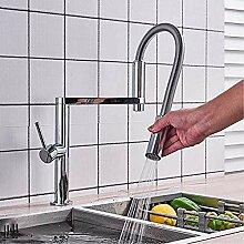 Chrom Küchenarmatur abnehmbarer Küchenarmatur
