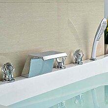 Chrom Messing Luxus Badezimmer Badewanne