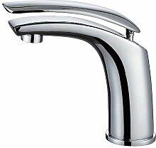 Chrom Waschbecken Waschtischarmatur Armatur Wasserhahn Mischbatterie Einhebelmischer Sanlingo