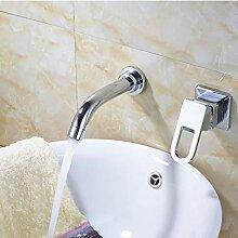 Chrom Waschbecken Wasserhahn Einhand/Loch Bad