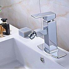 Chrom Waschbecken Wasserhahn Mit Quadratischen