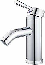 Chrom Wasserhahn Einhebel Armatur Waschtischarmatur Waschbeckenarmatur Waschtisch Mischbatterie für Bad