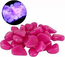 Chshe Leuchtsteine 100 Stueck künstliche