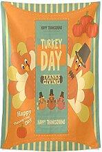 CHSUNHEY Wandteppiche Thanksgiving Decorations