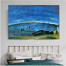 chthsx Künstler Morgen auf dem Meer Gemälde Bild