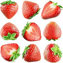 CHTING 50 Stück Mehrjährige Erdbeersamen Sehr