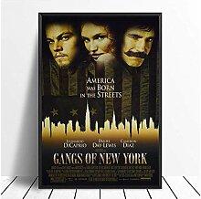 chtshjdtb Gangs of New York Filmposter klassisch