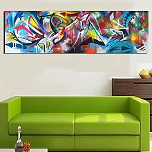 chtshjdtb Wandkunst Ölgemälde Abstraktes Bild