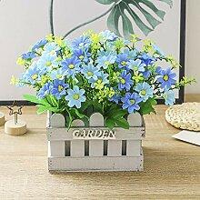 chuanglanja Künstliche Blumen Zaun Künstliche