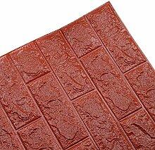 ChuangYing 3D Brick Wand Aufkleber selbst klebende