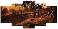 ChuangYing 5 Stück von Kunst Twilight Landschaft