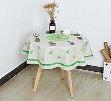 ChuangYing Baumwolle Bettwäsche Tisch Tischdecke