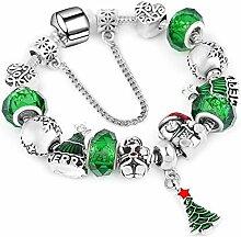 ChuangYing DIY kreative grüne Armband Weihnachten