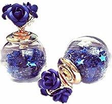 ChuangYing Drei Glas Blume Kristallkugel