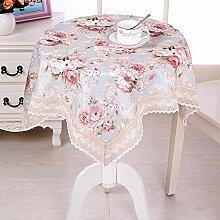 ChuangYing Kleines Quadrat Tisch Tuch Tischdecke