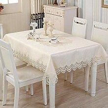 ChuangYing Luxus Spitze ölbeweis Tischdecke