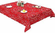 ChuangYing Nordische Einfache Tischdecke Baumwolle